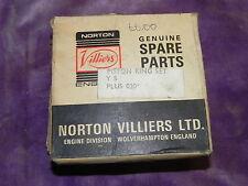 """AJS STORMER 370cc 410cc Y5 piston rings Genuine NOS Norton Villiers +.020"""""""