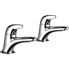 Mira Comfort Chrome Hot & Cold Bath Taps 2.1818.003
