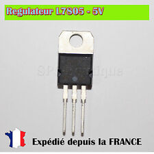 Régulateur L7805CV/LM7805/L7805 - 5V / TO220