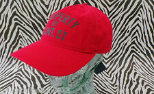 GANT Baseball Style Cap Stunning 90110 COLLEGE Red Cotton Hat BNWT RRP£30