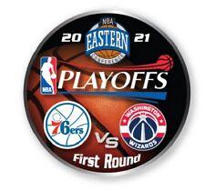 2021 NBA Rond 1 Collecteur Broche Philadelphia 76ERS Vs Washington Wizards