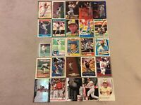 HALL OF FAME Baseball Card Lot 1977-2020 KEN GRIFFEY JR LOU BROCK MIKE TROUT
