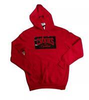 Crooks & Castles mens 100% authentic L/S hoodie size medium red