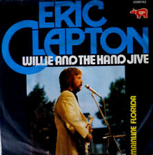 """7"""" 1974 MINT- ! ERIC CLAPTON : Willie And The Hand Jive"""