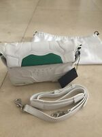 Brand New ALEXANDER WANG Sneaker Small Bag White Leather Cross Body Authentic