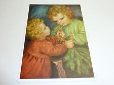 "vintage blank 70` greeting cards  Spötl""christmas preparation""143"""