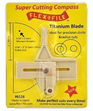 Flex-I-File 6116 Super Cutting Compass w/Titanium Blade