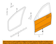 FORD OEM 08-11 Focus-Door Skin Outer Panel Right 8S4Z5420200A