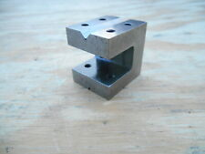"SMALL MACHINISTS V-BLOCK , CUBE , 1-5/16"" x 1-5/16"" X 1-1/8"""