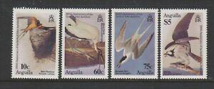 Anguilla - 1985, J Audubon, Birds set - MNH - SG 650/3