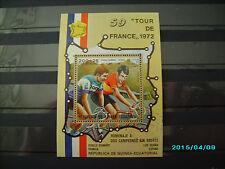 schöner Block von der Tour de France 1972 gestempelt