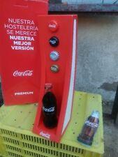 expositor coca cola plastico nuevo