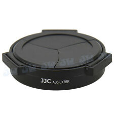 JJC Auto Open Lens Cap for Panasonic Lumix LX7 Leica D-Lux6 Black, fits Filter