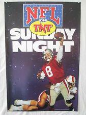SUNDAY NIGHT NFL ON TNT POSTER