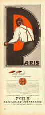 1944 Vintage ad for PARIS Free-Swing Supsenders/40's Fashion (042913)