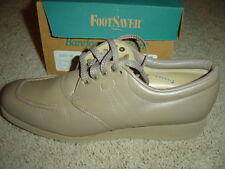 Drew Footsaver Trader Tan Beige Women's Shoes - Size 6.5 Narrow - Oxford NEW