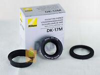 Genuine Nikon DK-17M Magnifying Eyepiece D500 D5 D810 D800E D4 D3 D3S D3X