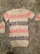Next Striped Jumper Dress 2-3 Bnwt