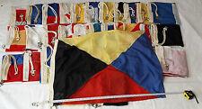 Lot of 35 Vintage U.S. Navy Naval Signal Flag