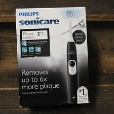 Philips Sonicare Series  2  Black.   HX6211/07 Plaque Control Toothbrush  NEW