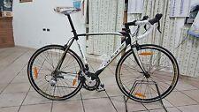 """Bici da corsa mis 28""""/XL alluminio-carbonio+contachilometri altezza telaio 53cm"""