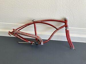 1964 Schwinn Stingray OEM Original Red Stingray Frame, Guard, Fork Dec.7th 1964