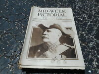 JAN 21 1915 MID WEEK PICTORIAL magazine WWI - GENERAL JOFFRE - FRENCH ARMY