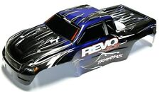 Nitro Revo 3.3 BODY (BLUE, BLACK SHELL & Decal, Cover Painted 5309 Traxxas