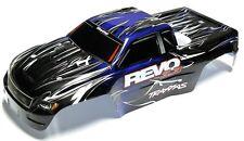 Nitro Revo 3.3 BODY (BLUE, BLACK SHELL & Decal, Cover Painted 5309 Traxxas
