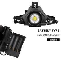 XHP70LED Headlamp Headlight Flashlight Head Light Lamp 5 Modes USB Rechargeable