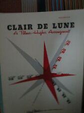 CLAIR DE LUNE BY PALMER HUGHES ACCORDION SOLO SHEET MUSIC
