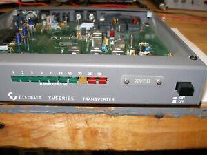 Elecraft XV50 50 MHz transverter 28 MHz IF 6 meter transverter with manual