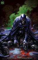 DCEASED #1 CRAIN INFECTED BATMAN VARIANT DC COMICS JOKER ROBIN W/COA