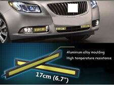 2Pcs Super White Car Waterproof COB 12V 17CM LED Lights As DRL Fog Driving Light