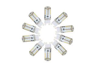 G9 57 SMD 3014 LED 2.3W Silicone Bulbs White Light AC DC 12V Energy Saving