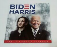 Perfect Holiday Gifts 46th President Joe Biden Kamala Harris 2021 Calendar