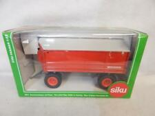 SIKU FARMER WELGER TWO SIDED TIPPING TRAILER WITH AWNING 2872 MIB 1:32