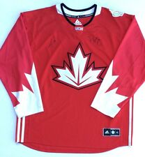 Team Canada MIKE BABCOCK & JONATHAN TOEWS Signed Autographed Official Jersey COA