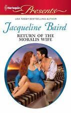 Return of the Moralis Wife ( Baird, Jacqueline ) Used - VeryGood