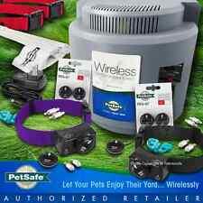 Petsafe PIF-300 Wireless Instant Fence PIF-275-19 Collars RFA-67 2 Dogs Purple