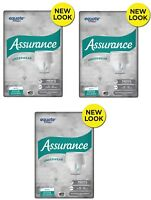 ( 120 Count ) Assurance Incontinence Max Absorbency Men Breathable Underwear S/M