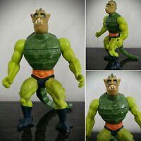 Vintage He-Man Masters Of The Universe Whiplash Action Figure No COO Mattel MOTU
