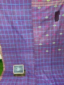 Kantha Cotton Recycled Fabric Yoga mat Beech Mat Handemade Gudri