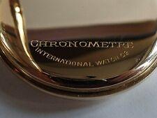 Seltene CHRONOMETER - IWC Taschenuhr in 14K Gold Gehäuse ca. 1922