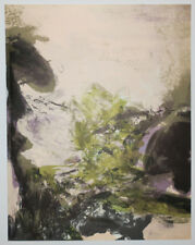 "ZAO WOU-KI ""Lithographie pour XXe Siècle"" 1971. LITHOGRAPHIE EN COULEURS XXème"