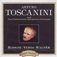 Arturo Toscanini - Rossini/Verdi/Wagner (CD)