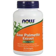 Saw Palmetto Extract, 80mg x 90 Softgels - NOW Foods
