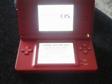 Bright Red Nintendo DS Lite R4 Card Charger & Case