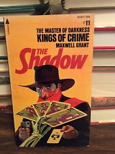 Shadow: Kings of Crime by Maxwell Grant, PB, 1976