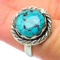 Tibetan Turquoise 925 Sterling Silver Ring Size 6.25 Ana Co Jewelry R34631F